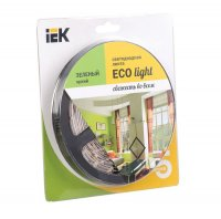 Лента LED 5м  блистер LSR-3528G60-4.8-IP20-12V IEK-eco